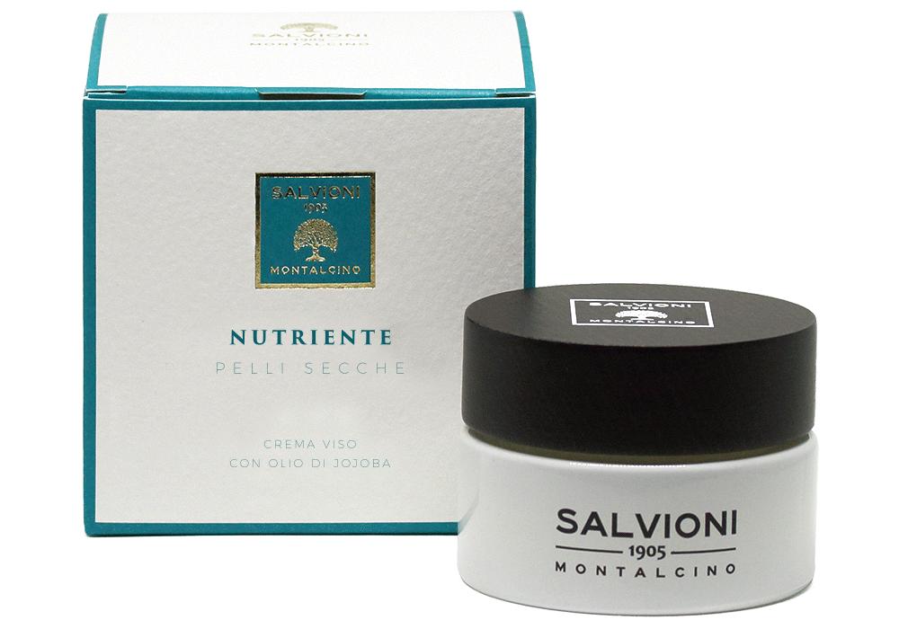 NUTRIENTE Crema viso con olio di jojoba effetto rich - 50ml